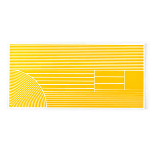 RydeSafe Reflective Stickers Multi-Shape Kit - XL Yellow