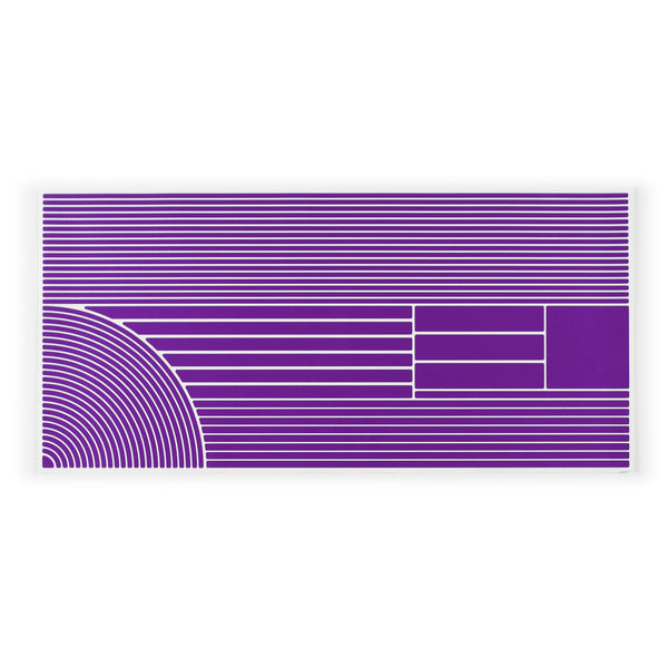 RydeSafe Reflective Stickers Multi-Shape Kit - XL violet