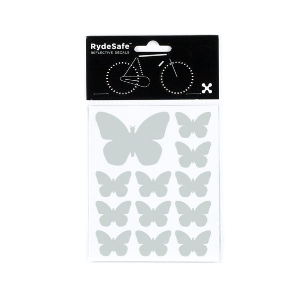 Reflective Butterfly stickers for bikes