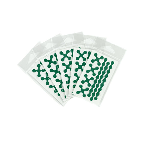 RydeSafe Reflective Decals - Modular Mini 5 Pack (green)