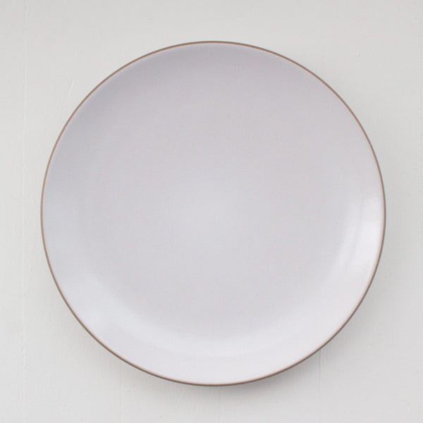 Heath Ceramics Coupe Line Dinner Plate Rental: Opaque White