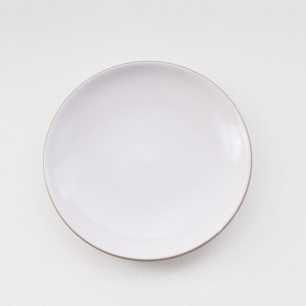 Heath Ceramics Coupe Line Salad Plate Rental: Opaque White
