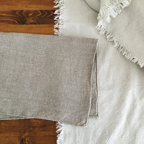 Natural Flax Napkins