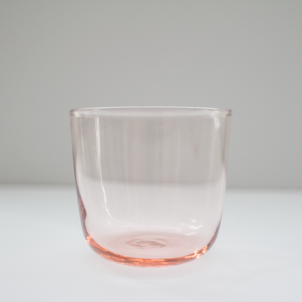 Pale Pink Glass Cups Rental
