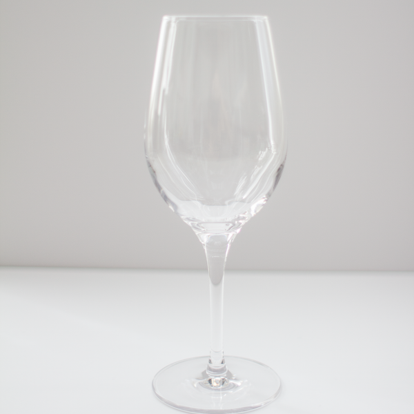 Crystal White Wine Glass Rental