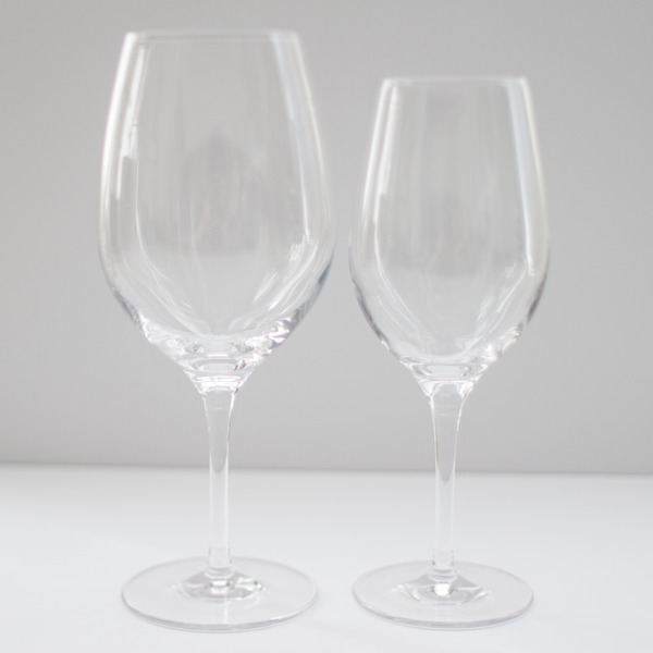 Crystal Red Wine Glass Rental