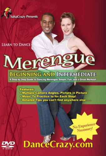 Learn To Dance Merengue, Beginning & Intermediate Latin Dancing: A Step-By-Step Guide To Merengue Dancing