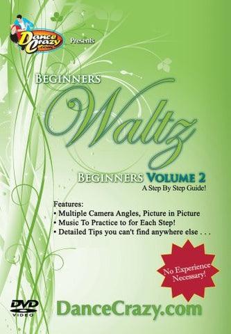Beginning Waltz Volume 2 - Waltz Dancing [Volume 2 of 2 DVD Set]
