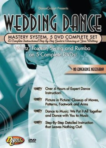Wedding Dance Mastery System, 5 DVD Set
