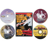 Dance Lessons Starter Kit - Swing Dancing, Salsa Classes, Merengue & Bachata (4 DVDs)