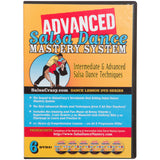 Advanced Salsa Dance Mastery System, 6 DVD Set