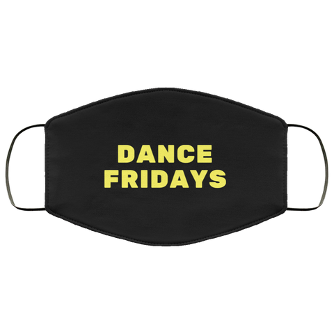 Dance Fridays 3 Protective Layer Face Mask