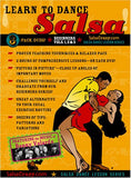 SalsaCrazy's Learn to Dance Salsa Collection: Beginner's Series, 3 DVD Set