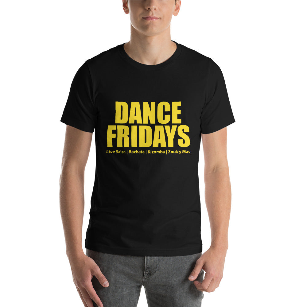 Dance Fridays Dance Shirts for Women's Short-Sleeve Unisex T-Shirt