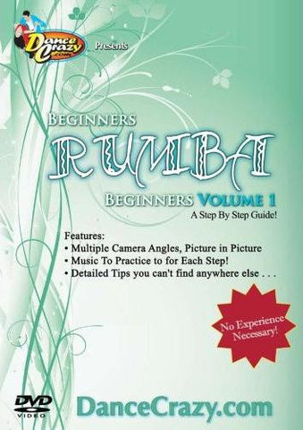 Beginning Rumba Volume 1 - Learn to Dance the Rumba [2 DVD Set]