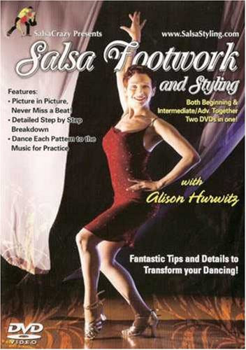 Salsa Dance Footwork and Styling
