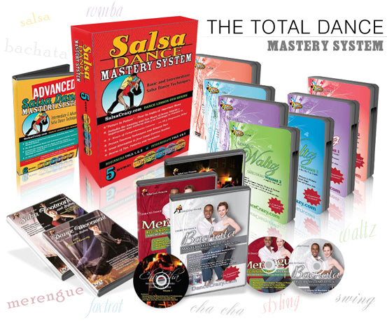 TOTAL Dance Mastery System - 27 DVDs, Ships AT COST