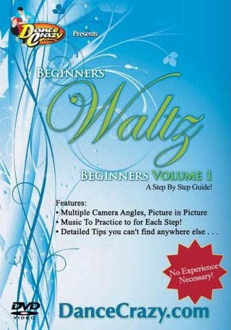 Beginning Waltz Volume 1 - Waltz Dancing [Volume 1 of 2 DVD Set]