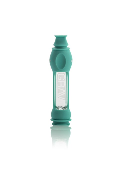 16mm GRAV® Octo-taster with Silicone Skin - Teal