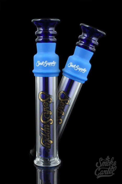 Blue - Sesh Supply Glass Blunt - Pack of 2 - Sesh Supply -