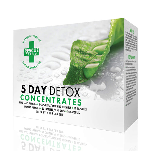 Rescue Detox 5-Day Health Cleanse Concentrates