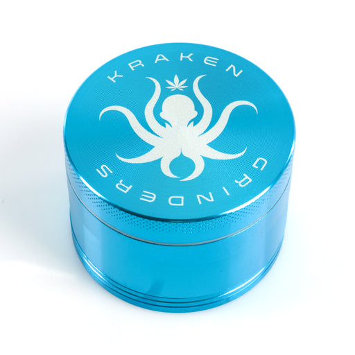 "Kraken Grinders - 2.2"" 4-Piece Grinder with Pollen Screen"