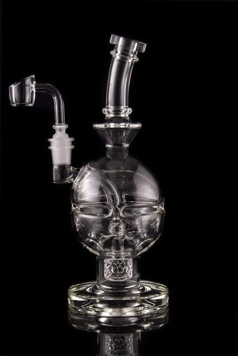 "The ""Seed of Life Egg"" Faberge Egg Dab Rig with Banger"