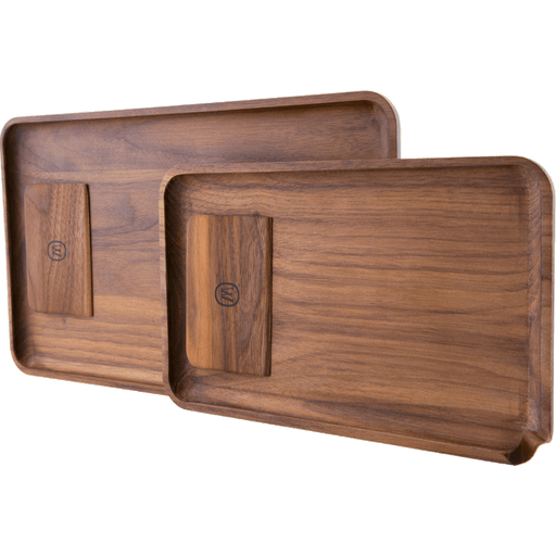 Marley Natural Black Walnut Tray with Scraper