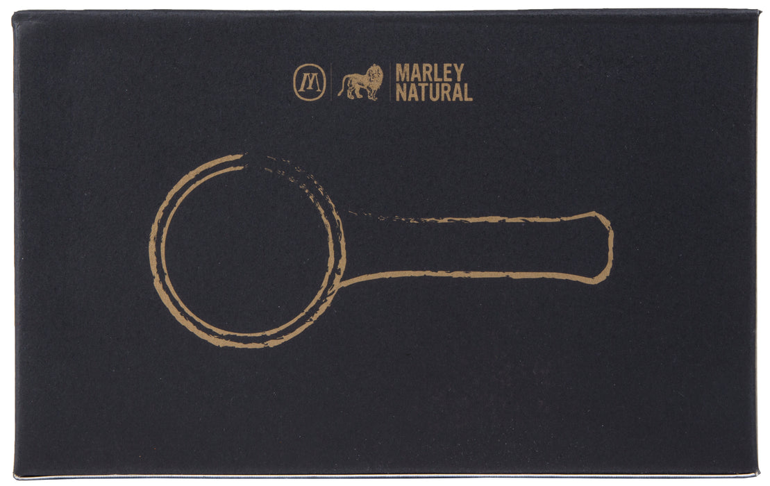Marley Natural Smoked Glass Spoon Pipe
