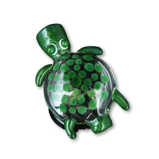 "3.5"" Sea turtle one-hitter pendant."