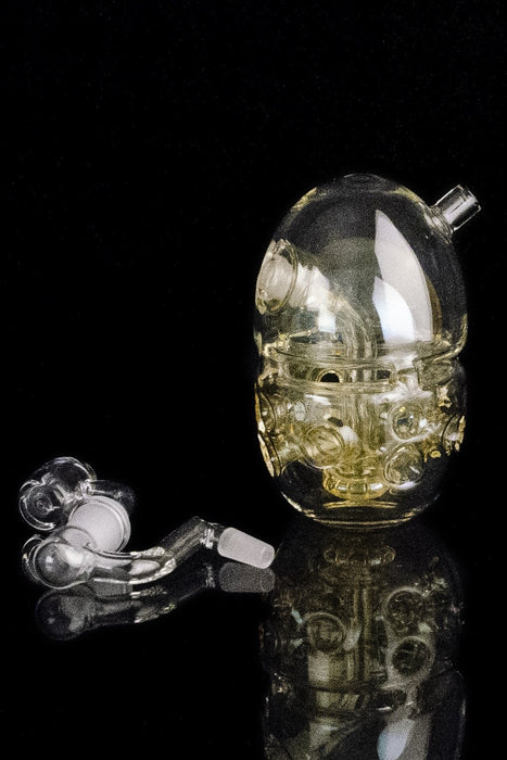 "The ""Fab Mini"" Faberge Egg-Style Bubbler Pipe"