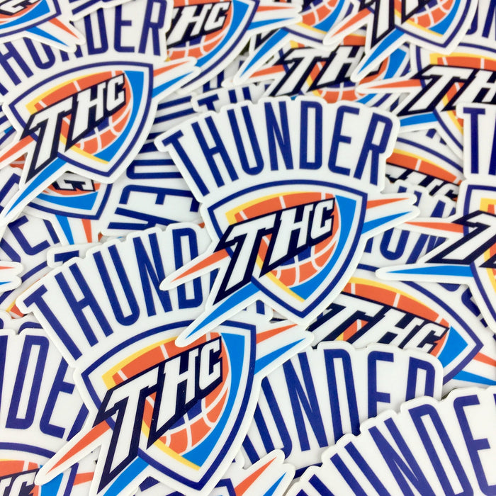 THC Thunder Sticker