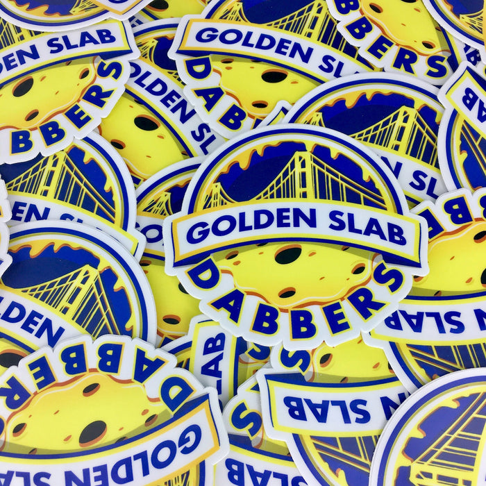 Golden State Dabbers Sticker