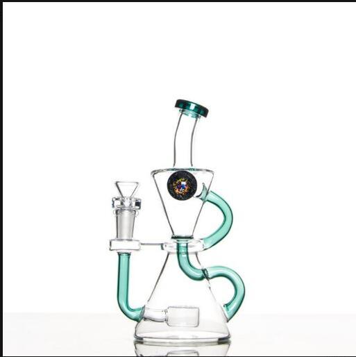 "The ""Whirlwind"" Klein Recycler With Reverse Domed Perc"
