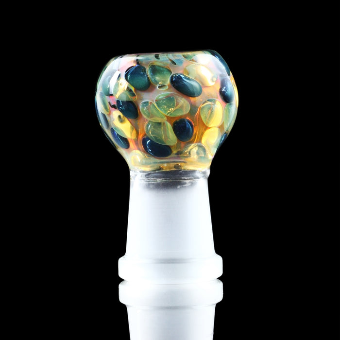 Gold and Silver Fumed Inside-Out 18mm Dome