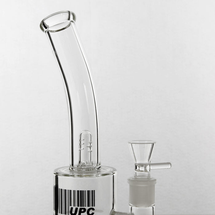UPC Honeycomb Perc Water Pipe with Splash Guard