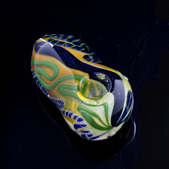 Large Dichro Ultra Heavy Fumed Egg