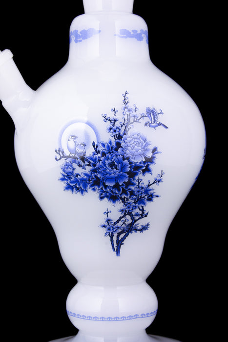Ornate China Vase Glass Bong - Cao Cao Dynasty