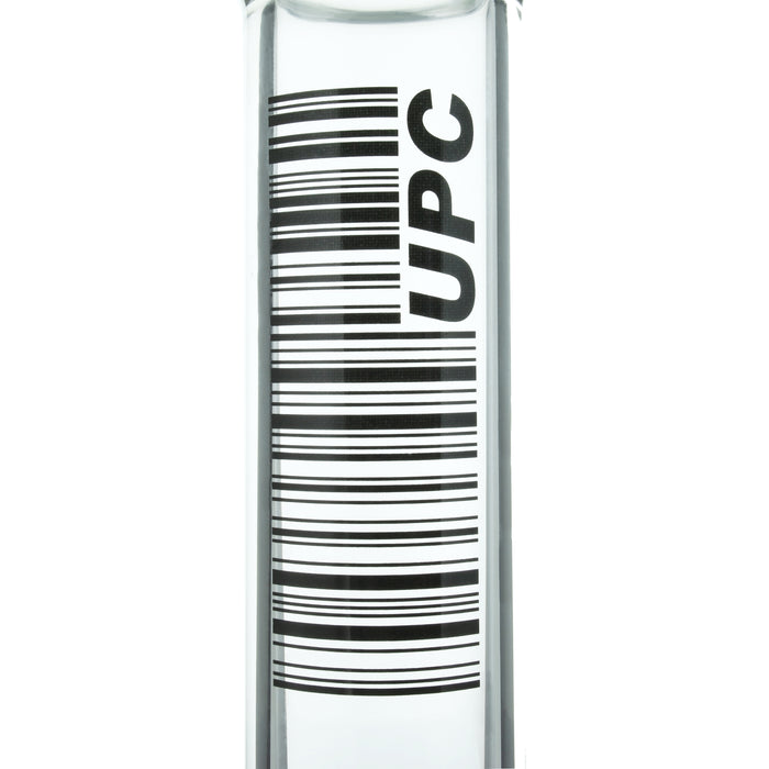 "UPC 12"" Clear Beaker Water Pipe"