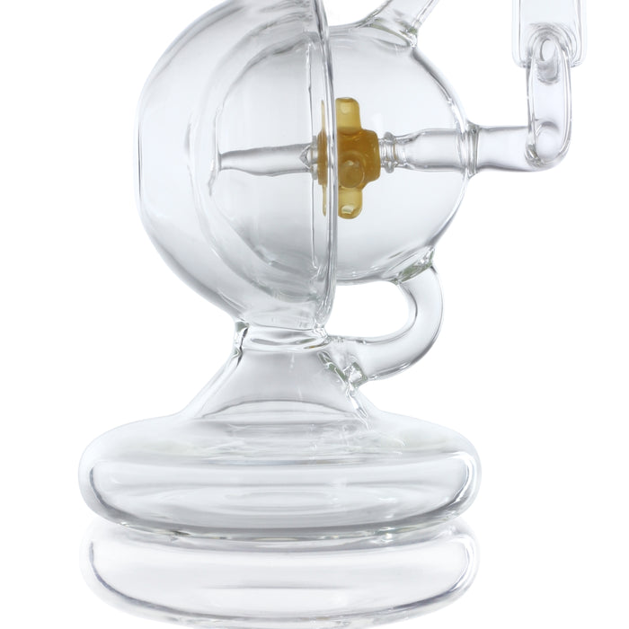 "Sesh Supply ""Prometheus"" Hemisphere Recycler with Propeller Perc"