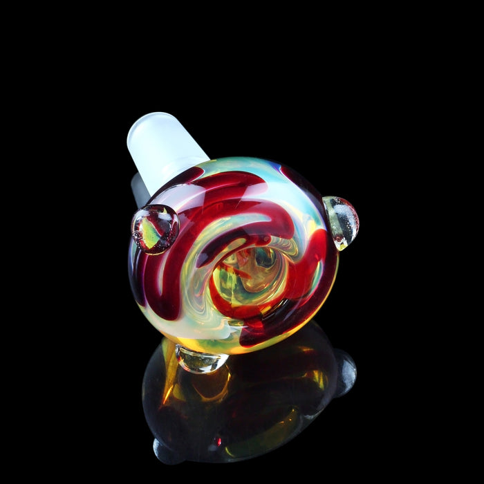 Extra Heavy Fumed with Crimson Cane Bowl