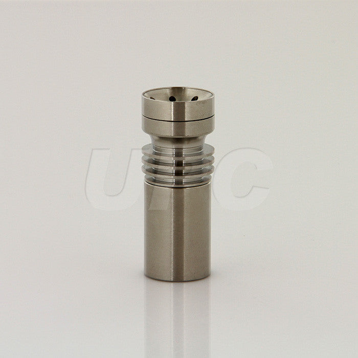 Saucer Top Titanium Nail - Fits Male 14mm or 18mm