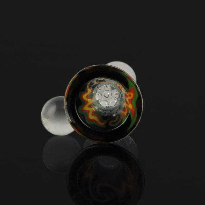 Reversal Honeycomb Bowl with Marble