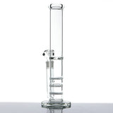 """Elite"" Triple Stacked Honeycomb to Turbine Perc Tall Water Pipe"