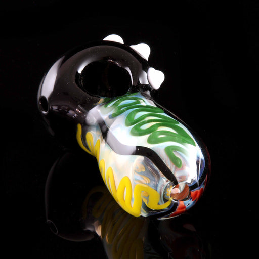 Rasta Black Head Egg Pipe