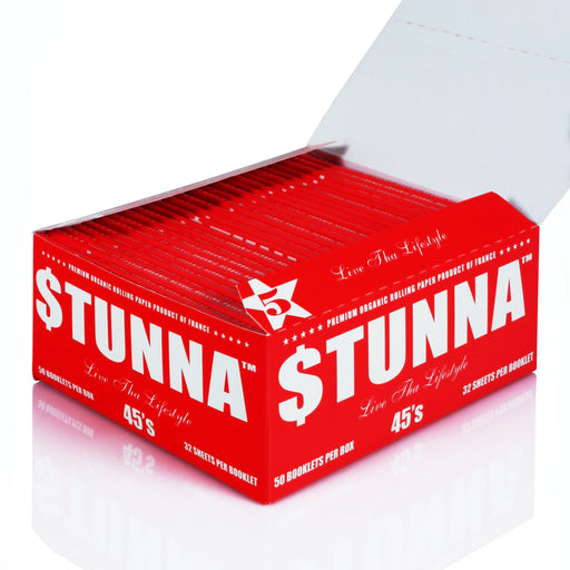 $tunna 45's Organic Hemp Rolling Papers