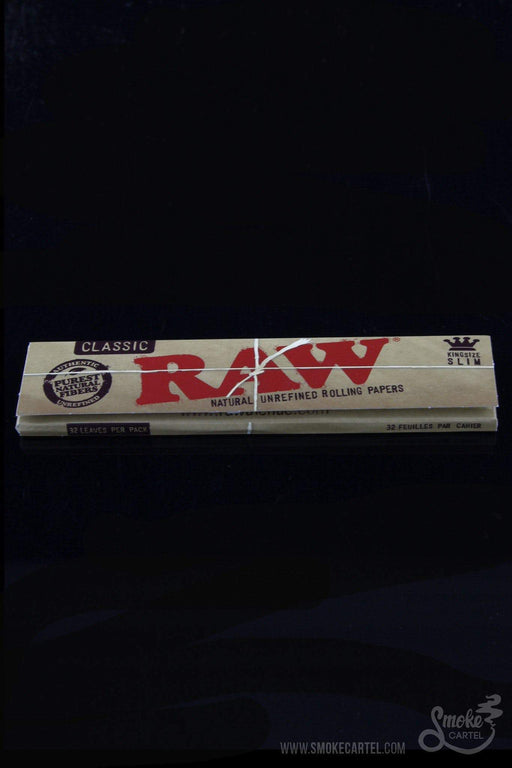 RAW King Size Slim Rolling Papers - RAW -