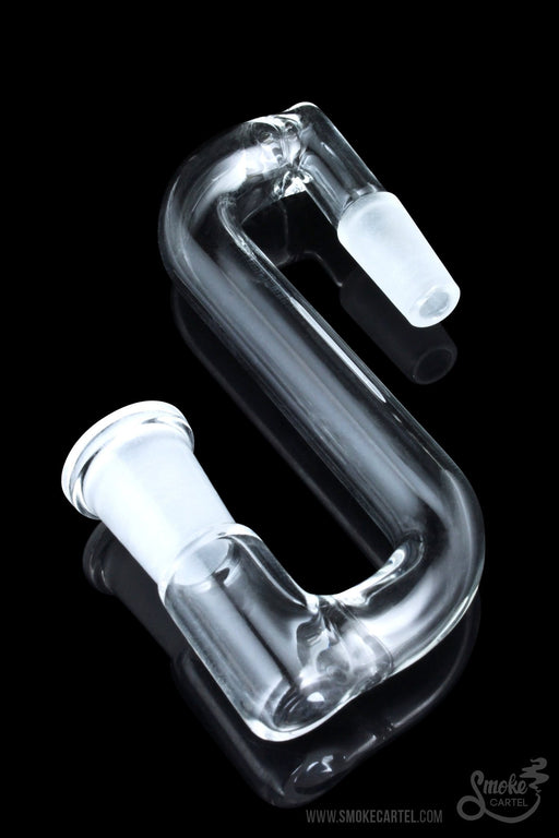 10mm - Sleek and Simple Female to Male Drop Down - Smoke Cartel -