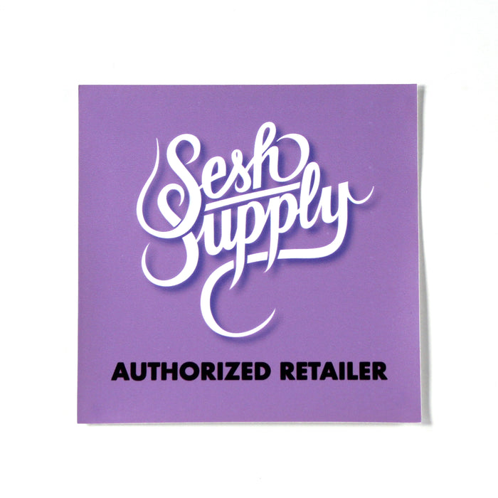 Sesh Supply Window Cling