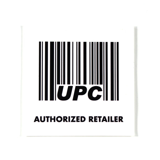 UPC Window Cling